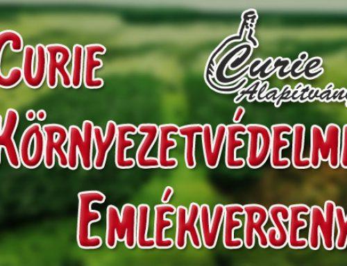Curie Környezetvédelem Emlékverseny 2020/2021-es tanévének feladatsorai