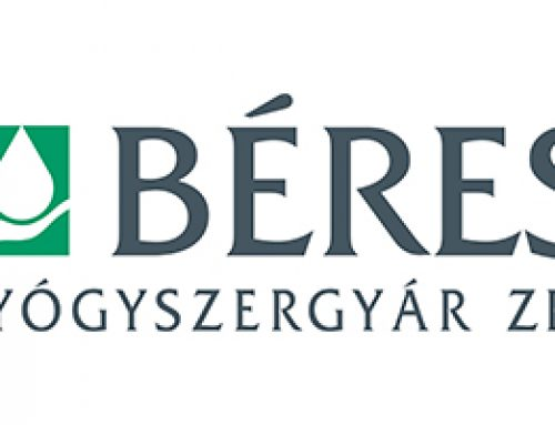 A Curie Kémia Emlékverseny főtámogatója: Béres Gyógyszergyár Zrt.